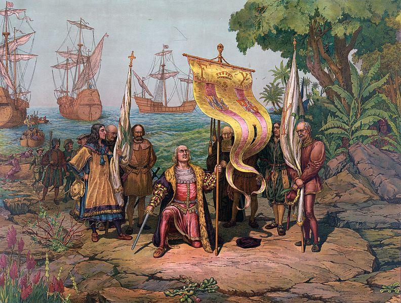 Christophe Colomb, premier Européen à goûter une boisson à base de cacao